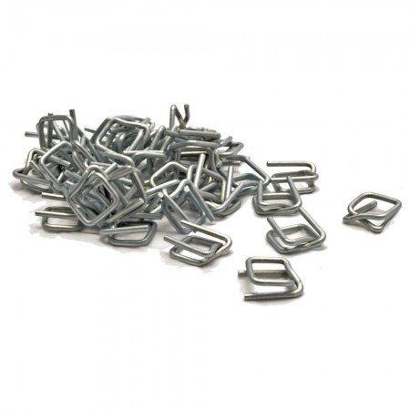Wire buckles for PP/PET tape