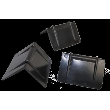Plastic protective corners