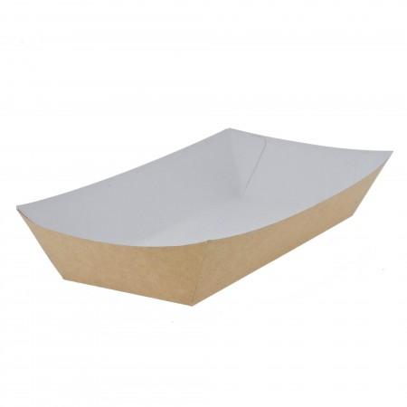 """Cardboard """"Boats"""" for food"""