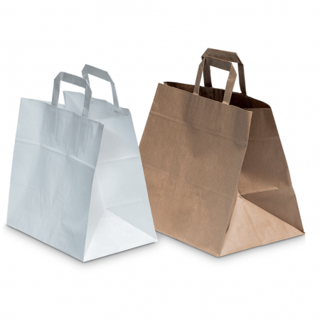 Paper bags for carrying food